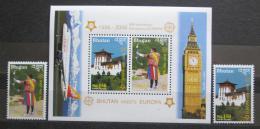 Poštovní známky Bhútán 2006 Evropa CEPT Mi# 2488-89,Block 477 Kat 40€