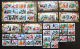 Poštovní známky Guinea 2006 Evropa CEPT, 50. výroèí, luxusní set KOMPLET Kat 129€