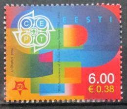 Poštovní známka Estonsko 2006 Výroèí Evropa CEPT Mi# 537