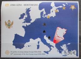Poštovní známka Èerná Hora 2006 Evropa CEPT, 50. výroèí Mi# Block 3 Kat 20€