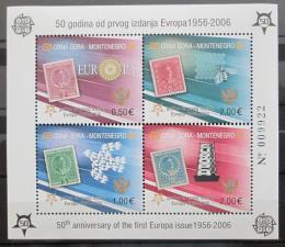 Poštovní známky Èerná Hora 2006 Evropa CEPT Mi# Block 2 A Kat 20€
