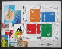 Poštovní známky Arménie 2006 Evropa CEPT, 50. výroèí Mi# Block 24