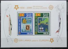 Poštovní známky Srí Lanka 2006 Evropa CEPT, 50. výroèí Mi# Block 102 Kat 15€