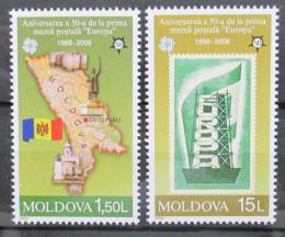 Poštovní známky Moldavsko 2005 Evropa CEPT, 50. výroèí Mi# 517-18 Kat 8€
