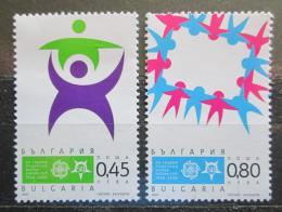 Poštovní známky Bulharsko 2005 Evropa CEPT, 50. výroèí Mi# 4706-07