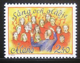 Poštovní známka Alandy, Finsko 1996 Hudební festival Mi# 115