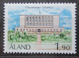 Poštovní známka Alandy, Finsko 1989 Radnice v Mariehamn Mi# 32