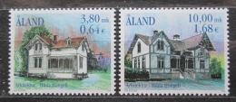 Poštovní známky Alandy, Finsko 2000 Místní architektura Mi# 179-80 Kat 6€