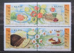 Poštovní známky Alandy, Finsko 2002 Gastronomie Mi# 203-06
