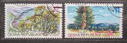 Poštovní známky Èeská republika 1999 Národní parky Mi# 215-16