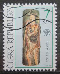 Poštovní známka Èeská republika 1999 Lidové umìní Mi# 230