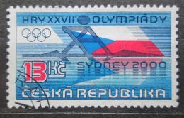 Poštovní známka Èeská republika 2000 LOH Sydney Mi# 267