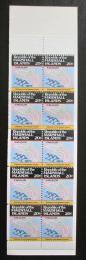 Sešitek Marshallovy ostrovy 1984 Ostrov Kwajalein Mi# MH 10 D Kat 11€