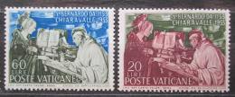 Poštovní známky Vatikán 1953 Umìní, Filippino Lippi Mi# 209-10 Kat 10€