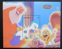 Poštovní známka Grenada 1998 Disney, Herkules Mi# Block 487