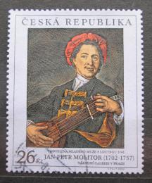Poštovní známka Èeská republika 2002 Umìní, Jan Petr Molitur Mi# 344