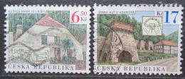 Poštovní známky Èeská republika 2004 Staré hutì Mi# 387-88
