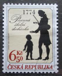 Poštovní známka Èeská republika 2004 Povinná školní docházka, 230. výroèí Mi# 412