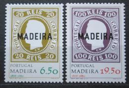 Poštovní známky Madeira 1980 První známky, 112. výroèí Mi# 62-63