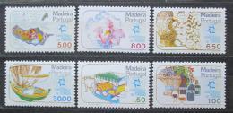 Poštovní známky Madeira 1980 Konference o turistice Mi# 64-69
