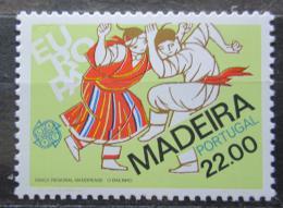 Poštovní známka Madeira 1981 Evropa CEPT, folklór Mi# 70