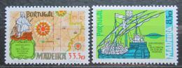 Poštovní známky Madeira 1981 Objevení ostrova Mi# 71-72
