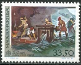 Poštovní známka Madeira 1982 Evropa CEPT, historie Mi# 77