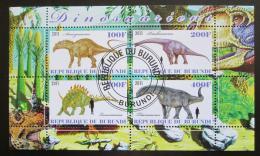 Poštovní známky Burundi 2011 Dinosauøi Mi# N/N