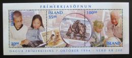 Poštovní známky Island 1994 Den známek Mi# Block 17 Kat 10€