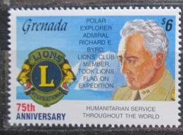 Poštovní známka Grenada 1992 Lions Intl., 75. výroèí Mi# 2518 Kat 5€