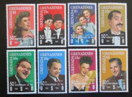 Poštovní známky Grenada Gren. 1992 Ameriètí umìlci Mi# 1573-80 Kat 10€