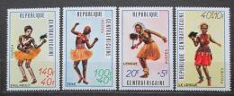 Poštovní známky SAR 1971 Tradièní tance Mi# 230-33 Kat 7.50€