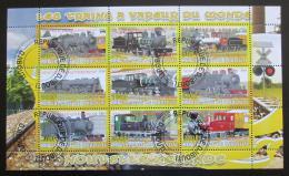 Poštovní známky Džibutsko 2010 Lokomotivy Mi# N/N