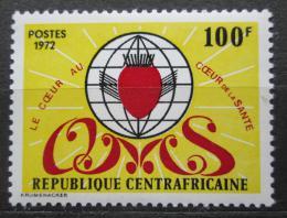 Poštovní známka SAR 1972 Mezinárodní mìsíc srdce Mi# 262