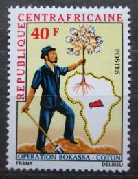 Poštovní známka SAR 1972 Pìstování bavlníku Mi# 270
