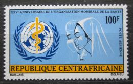 Poštovní známka SAR 1973 WHO, 25. výroèí Mi# 309