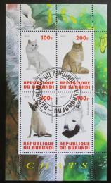 Poštovní známky Burundi 2010 Koèky Mi# N/N