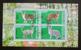 Poštovní známky Burundi 2011 Koèky Mi# N/N