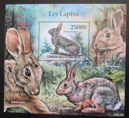 Poštovní známka Komory 2011 Králíci Mi# Block 631 Kat 13€