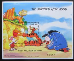 Poštovní známka Mikronésie 1998 Disney postavièky Mi# Block 32