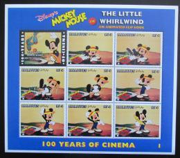 Poštovní známky Maledivy 1996 Disney, Mickey Mouse Mi# 2761-68