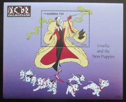 Poštovní známka Gambie 1997 Disney, 101 dalmatýnù Mi# Block 340 Kat 9.50€