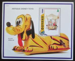 Poštovní známka Guyana 1996 Disney, staré hraèky Mi# Block 517
