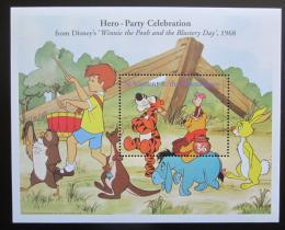 Poštovní známka Svatý Vincenc 1998 Disney, Medvídek Pú Mi# Block 454