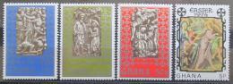 Poštovní známky Ghana 1974 Velikonoce Mi# 540-43