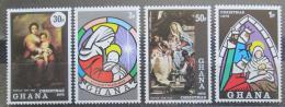 Poštovní známky Ghana 1973 Vánoce Mi# 532-35