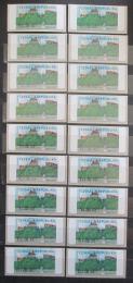 Poštovní známky Èeská republika 2000-01 Hrad Veveøí ATM známky s hvìzdièkou Mi# 1