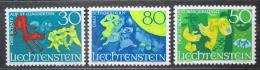 Poštovní známky Lichtenštejnsko 1968 Báje Mi# 497-99