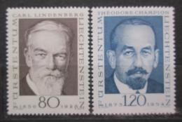 Poštovní známky Lichtenštejnsko 1969 Osobnosti filatelie Mi# 512-13