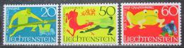 Poštovní známky Lichtenštejnsko 1969 Báje Mi# 518-20
